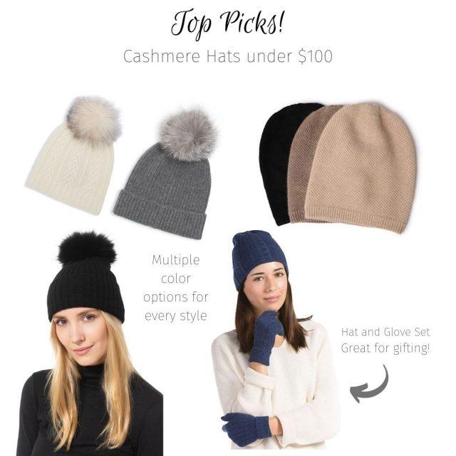 cashmere hats top picks