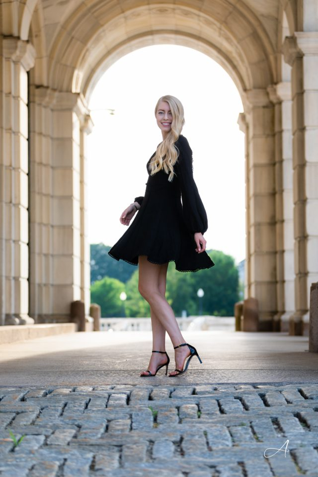 tips for wearing black in the summer