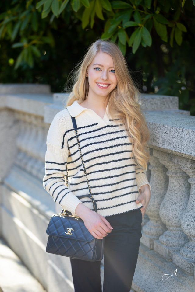 alex mill striped sweater for summer